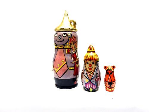 The Tin Man (Wizard of Oz) Matryoshka Dolls