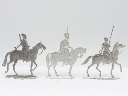 The Tsar with Russian Cossacks