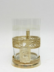 "Filigree Tea Glass Holder ""City Series"" Gorky (aka Nizhny Novgorod)"