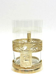"Filigree Tea Glass Holder ""City Series"" Gorky"