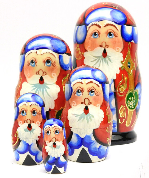 "Grandfather Frost ""Potal"" Matryoshka Doll"