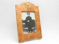 Alexei Heir to the Russian Throne Burlwood Frame