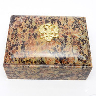 Russian Imperial Double Headed Eagle Keepsake Box