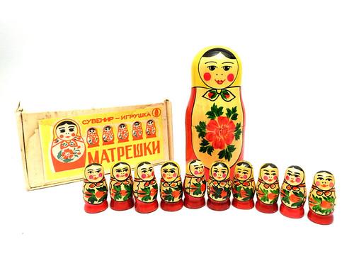"Matryoshka ""Counting"" Nesting Toy"