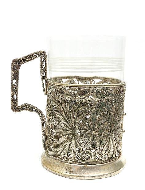 Kazakovo Filigree Tea Glass Holder