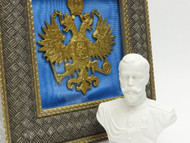 Tsar Nicholas II Double Headed Eagle Desk Set