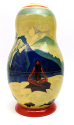 The Works of Nicholas Roerich Russian Art Matryoshka