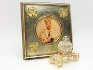 Tsar Nicholas Coronation Imperial Eagle Frame and Carriage