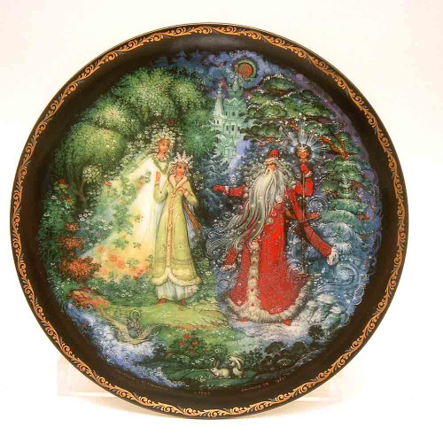 Snowmaiden with Spring and Winter (Снегурочка и ее родители)