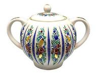 Sarafan (Сарафаны) Sugar Bowl with Lid