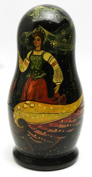 The Scarlet Flower Fairy Tale Artistic Matryoshka
