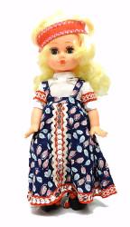 Blonde Maiden Minstrel Doll