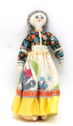 Traditional Russian Vintage Rag Doll