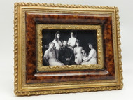 Family Portrait in Ornate Frame