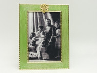 Family Portrait Sea Green Faberge Frame