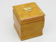 Tsar's Golden Karelian Birchwood Box