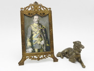 Nicholas II with Borzoi