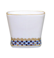Cobalt Net Toothpick Holder