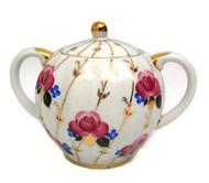 Antique Roses Sugar Bowl