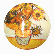 Vase with Sunflowers [Van Gogh]