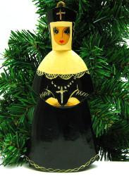 Orthodox Nun Hand Made Ornament