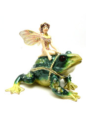 Fairy on Frog Box