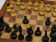 Russian Imperial Eagle Chess Set