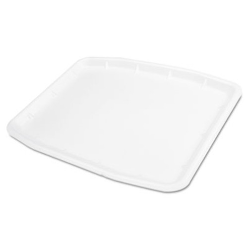 Genpak Supermarket Tray, Foam, 12 x 15.75 x .75, White, 100/Carton (GNP 11216WH)