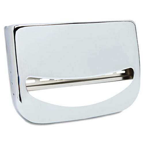 Boardwalk Toilet Seat Cover Dispenser, 16 x 3 x 11 1/2, Chrome (BWK KD200)