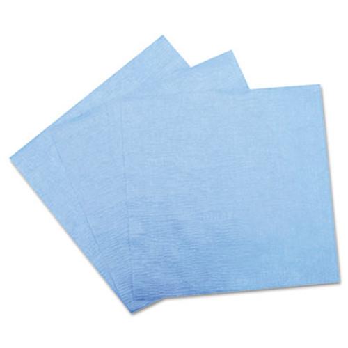 Hospital Specialty Co. DuPont Sontara EC Engineered Cloths, 12 x 12, Blue, 100/Pack, 10 Packs/Carton (HOS PR811)