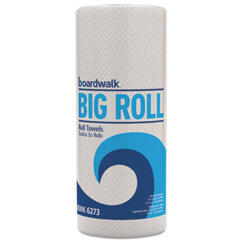 Boardwalk Perforated Paper Towel Roll, 2-Ply, White, 11 x 8 1/2, 250/Roll, 12 Rolls/Carton (BWK 6273)