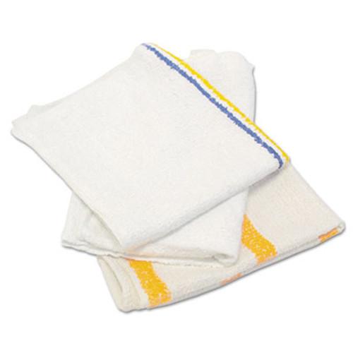 Hospital Specialty Co. Counter Cloth/Bar Mop, Value Choice, White, 25 Pounds/Bag (HOS 534-25BP)