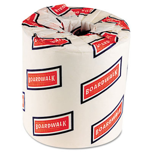 Boardwalk One-Ply Toilet Tissue, 1000 Sheets, White, 96 Rolls/Carton (BWK 6170)