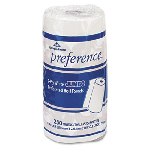 Georgia Pacific Professional Perforated Paper Towel, 8 4/5 x 11, White, 250/Roll, 12 Rolls/Carton (GPC 277)