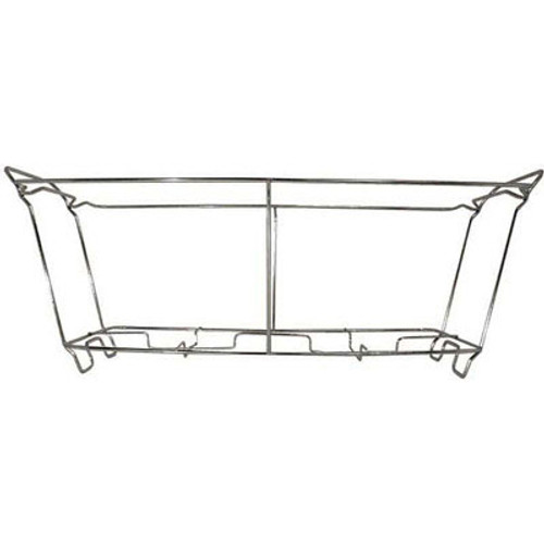 Adcraft Wire Chafer Frame, 23w x 12d x 8h, Aluminum (ADC WCS-S)