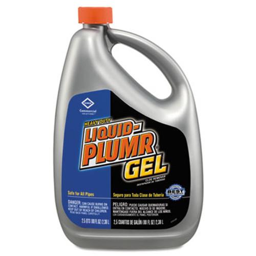 Liquid Plumr Heavy-Duty Clog Remover, Gel, 32oz Bottle, 9/Carton (CLO 00243)