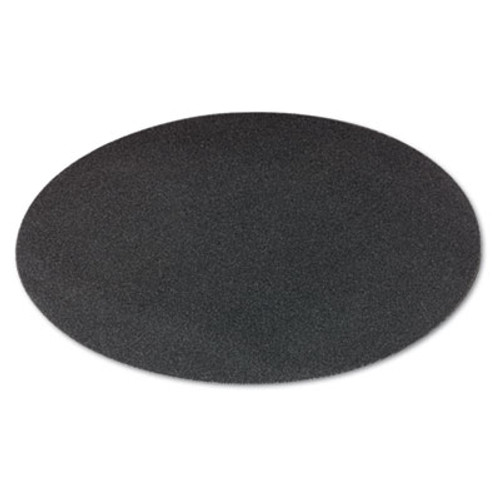 "Boardwalk Sanding Screens, 20"" Diameter, 100 Grit, Black, 10/Carton (PAD 5020-100-10)"