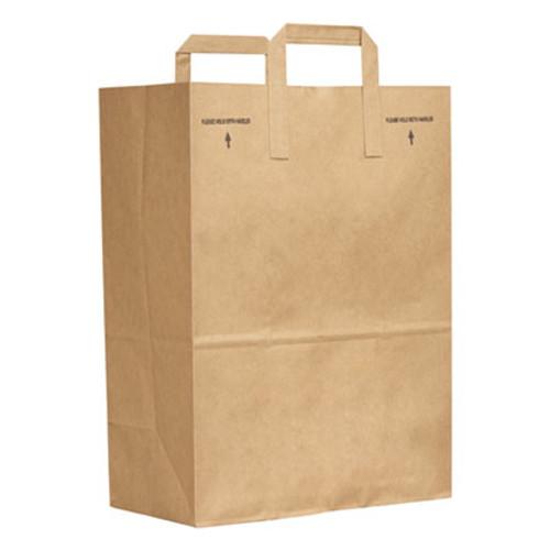 General 1/6 BBL Paper Grocery Bag, 70lb Kraft, Standard 12 x 7 x 17, 300 bags (BAG SK1670EZ-300)