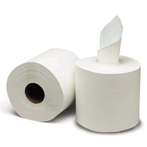 GEN Center-Pull Paper Towels, 8w x 10l, White, 600/Roll, 6 Rolls/Carton (GEN 1925)