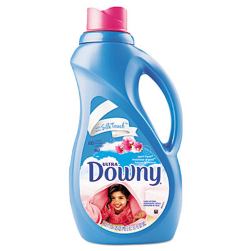 Downy Liquid Fabric Softener, Concentrated, April Fresh, 51oz Bottle, 8/Carton (PGC 35762)