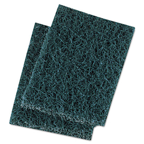 Boardwalk Extra Heavy-Duty Scour Pad, 3 1/2 x 5, Blue/Gray, 20/Carton (PAD 188)