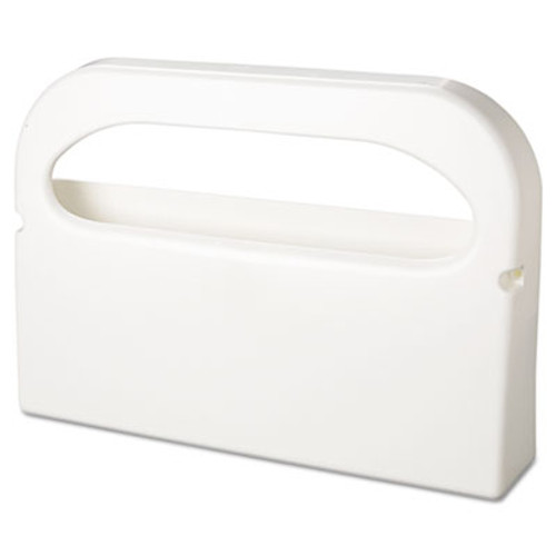 Hospital Specialty Co. Toilet Seat Cover Dispenser, Half-Fold, Plastic, White, 16w x 3 1/4d x 11 1/2h (HOS HG-1-2)