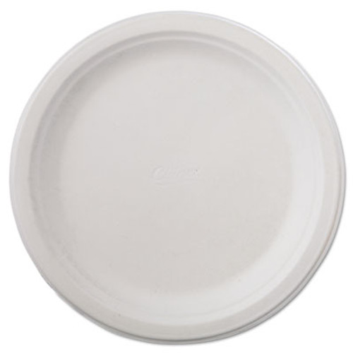 "Chinet Classic Paper Dinnerware, Plate, 9 3/4"" dia, White, 125/Pack, 4 Packs/Carton (HUH VAPOR)"