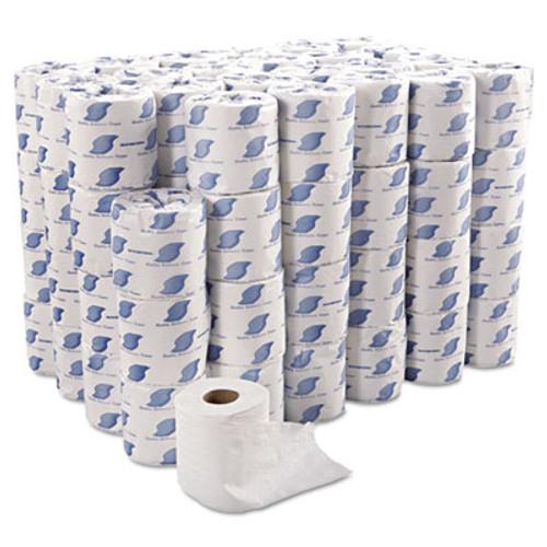 GEN Bath Tissue, Wrapped, 2-Ply, White, 420 Sheets/Roll, 96 Rolls/Carton (GEN 700)