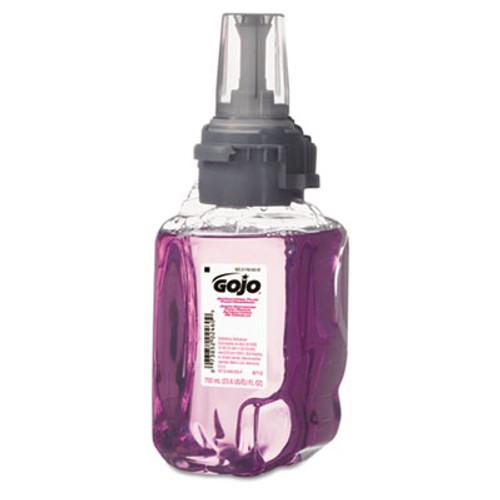 GOJO Antibacterial Foam Hand Wash, Plum Scent, 700mL Refill, 4/Carton (GOJ 8712-04)