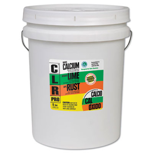 CLR PRO Calcium, Lime and Rust Remover, 5gal Pail (JEL CL-5PRO)
