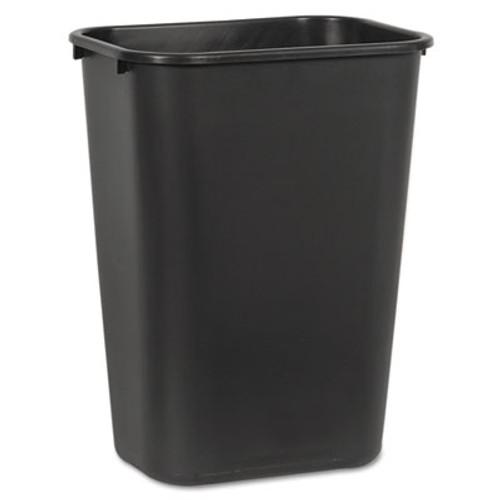 Boardwalk Soft-Sided Wastebasket, 41 qt, Plastic, Black (UNS 41QTWB BLA)
