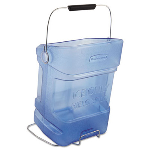 RubbermaidA Ice Tote, 5.5gal, Blue, With Hook Assembly (RCP 9F54 TBL)