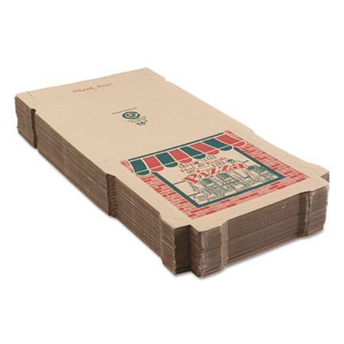 ARVCO Corrugated Pizza Boxes, Kraft, 18 x 18 (ARV 9184314)