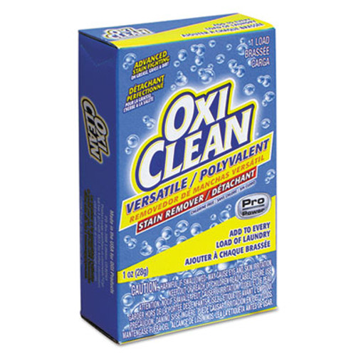 OxiClean Versatile Stain Remover Vend-Box, 1-Load, 1oz Box, 156/Carton (VEN 5165500)